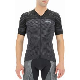UYN Coolboost Kurzarm Biking Shirt Herren grau/schwarz